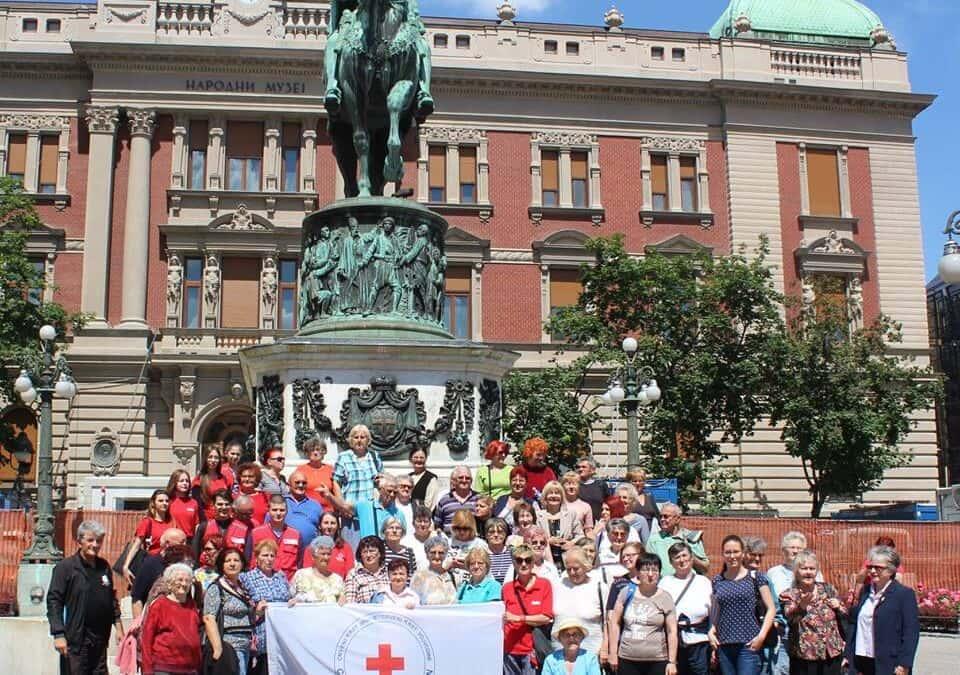 Излет волонтера Основних организација Црвеног крста