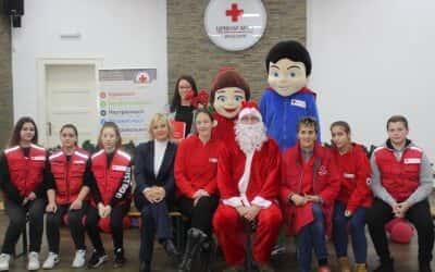 Подела новогодишњих пакетића – Донација Града Зрењанина