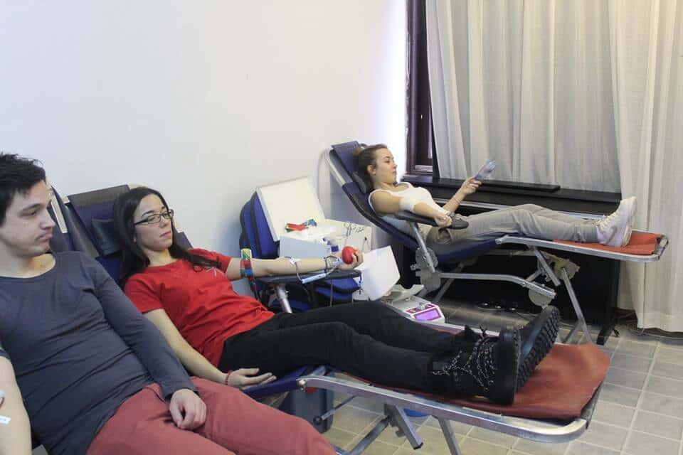 Јануарске акције добровољног давања крви