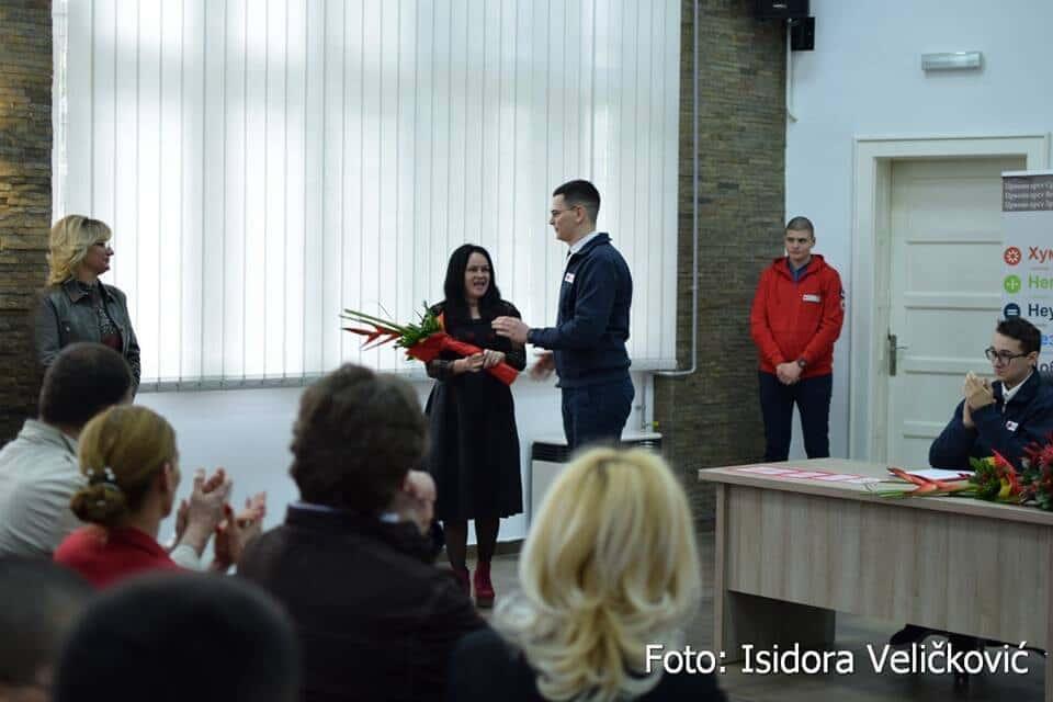 Скупштина Омладинске теренске јединице Црвеног крста Зрењанин