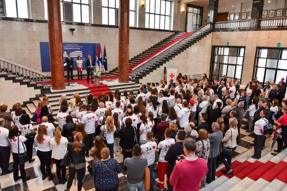 Пријем код председника Владе АПВ Војводине