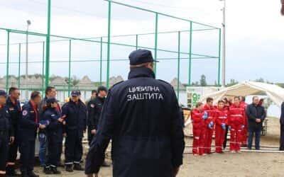 Вежба јединица Цивилне заштите Пескара