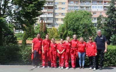 Учешће на регионалном такмичењу у пружању прве помоћи Aрад