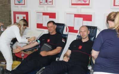 Акција добровољног давања крви у Великој сали Црвеног крста Зрењанин