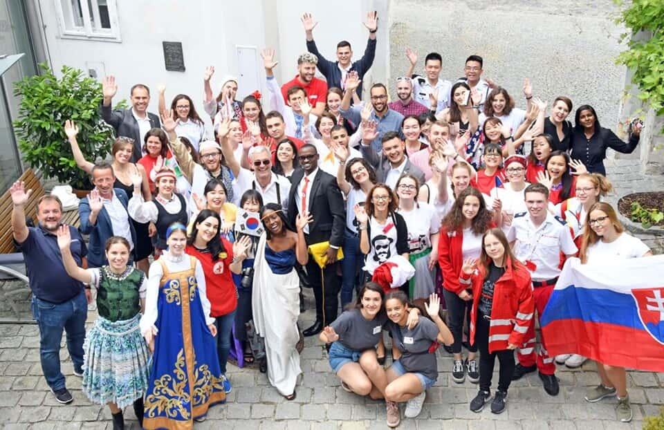 Међународни камп пријатељства, Лангенлоис, Аустријa