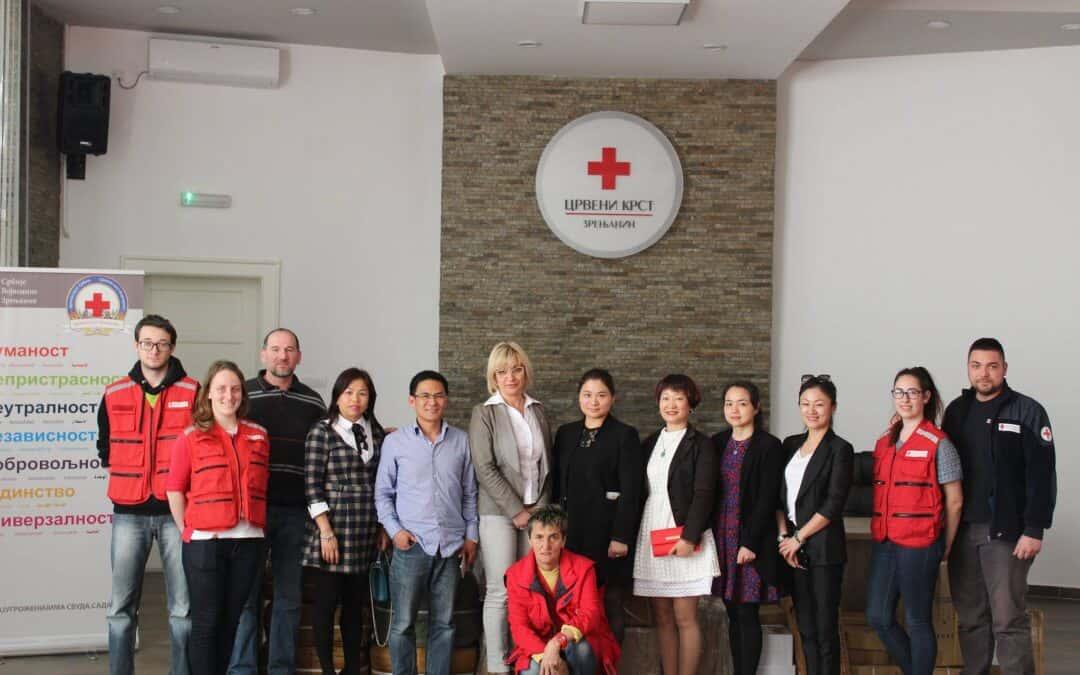 Посета представника Асоцијације жена из Кине у Републици Србији