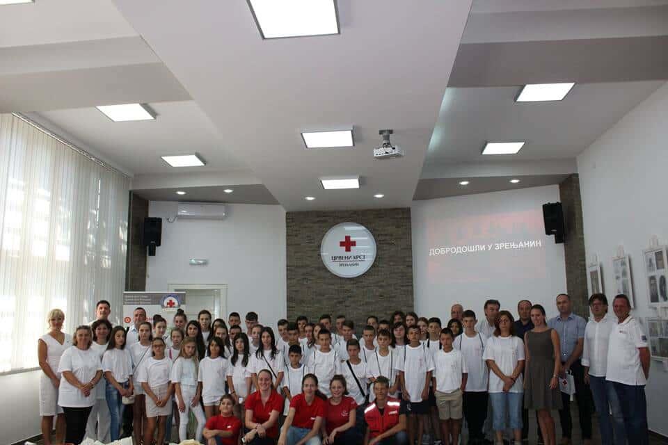 Посета деце из Општине Ранилуг ( Косовско Поморавље ) Црвеном крсту