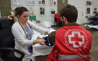 Акција добровољног давања крви у Црвеном крсту