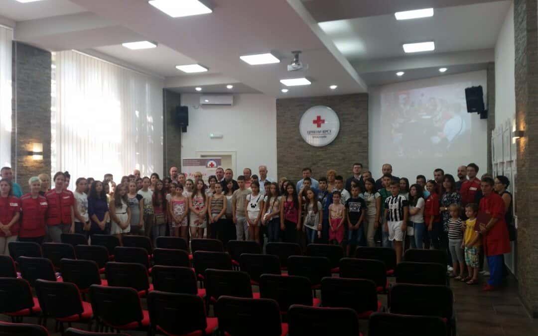 Посета деце из Општине Ранилуг (Косовско Поморавље) Црвеном крсту Зрењанин