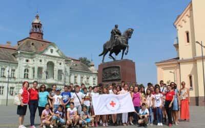 Посета деце из Косовског Поморавља Црвеном крсту Зрењанин