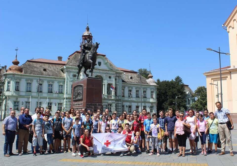 Посета деце из Општине Ранилуг (Косовско Поморавље)