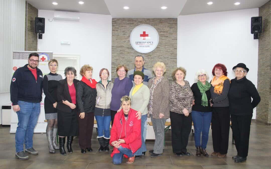 Састанак секретара (председника) Основних организација Црвеног крста Зрењанин