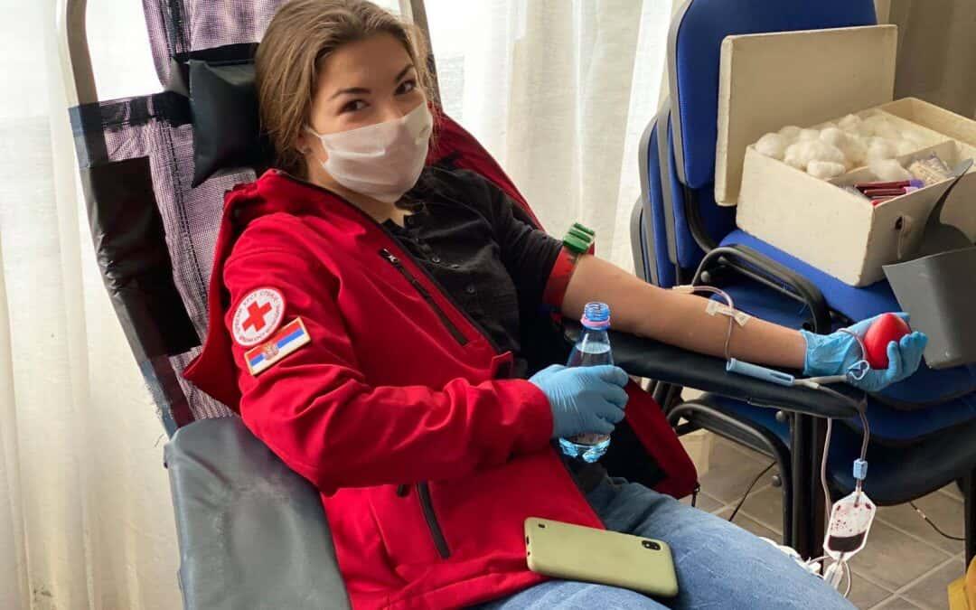 Акција добровољног давања крви за време ванредног стања
