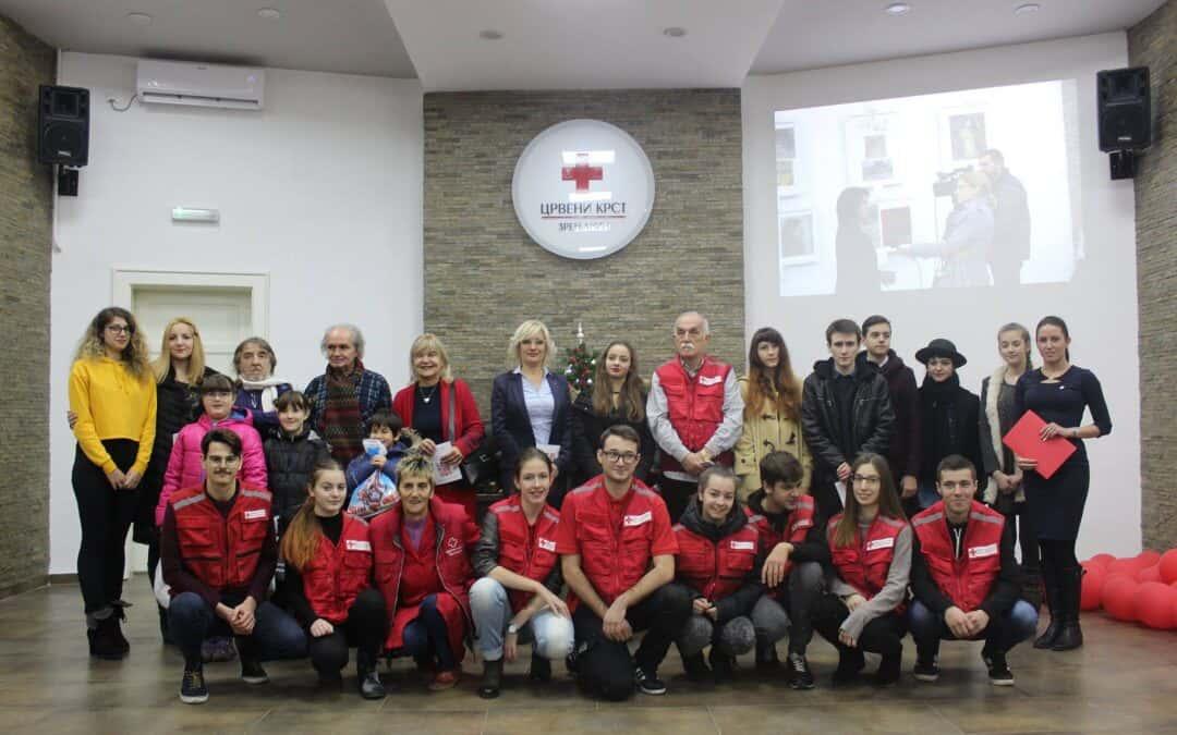 Отварање изложбе радова полазника Ликовне секције Црвеног крста