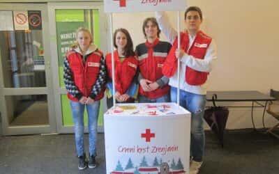 Акција добровољног давања крви у Зеленом звону
