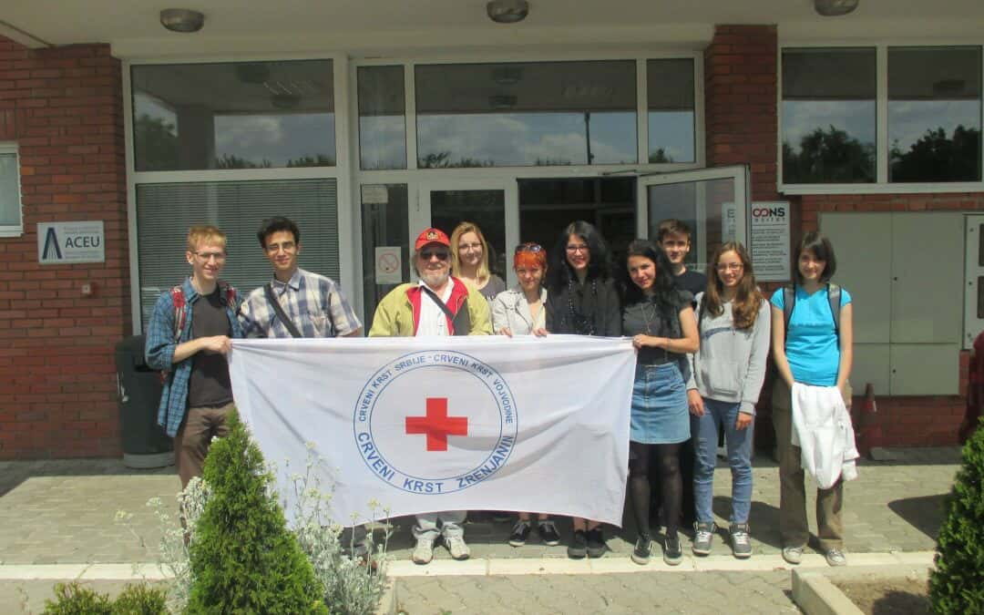 Посета полазника Ликовне секције Црвеног крста Зрењанин Новом Саду