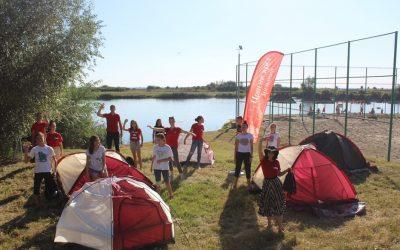 Обука волонтера Црвеног крста Зрењанин на Пескари