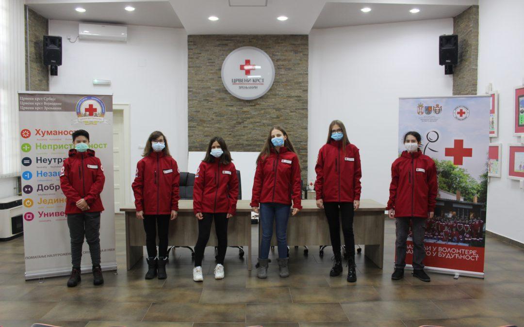 Подмладак Црвеног крста Зрењанин победио на државном такмичењу у пружању прве помоћи