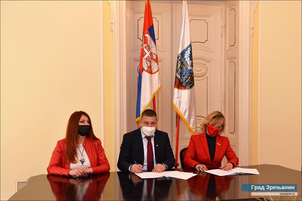Потписан Споразум о сарадњи Града Зрењанина и Црвеног крста Зрењанин