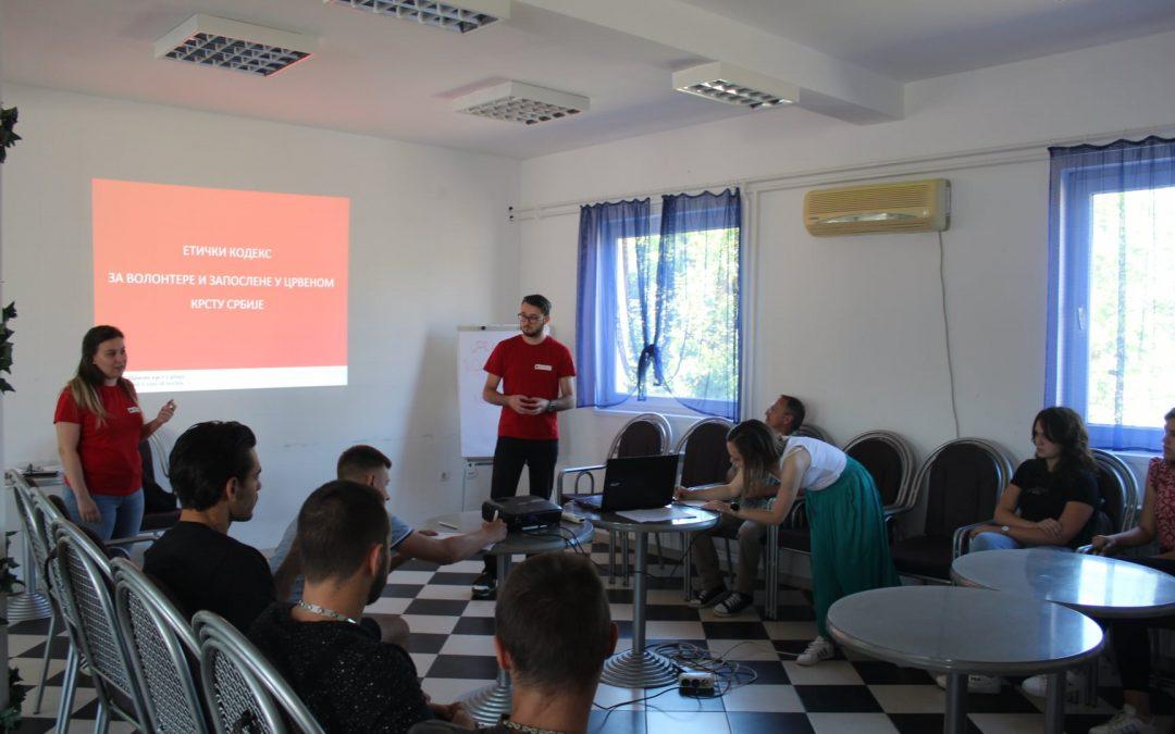 Управљање волонтерима у несрећама – Црвени крст Пландиште
