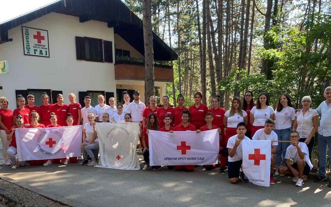 """Извештај о реализованом заједничком омладинском кампу Црвеног крста ,,Гај-Дивљана 2021"""""""