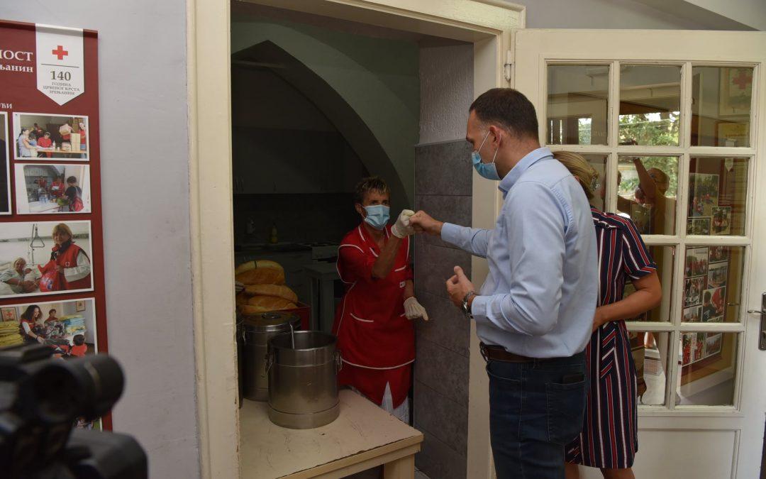 Градоначелник у посети Црвеном крсту Зрењанин