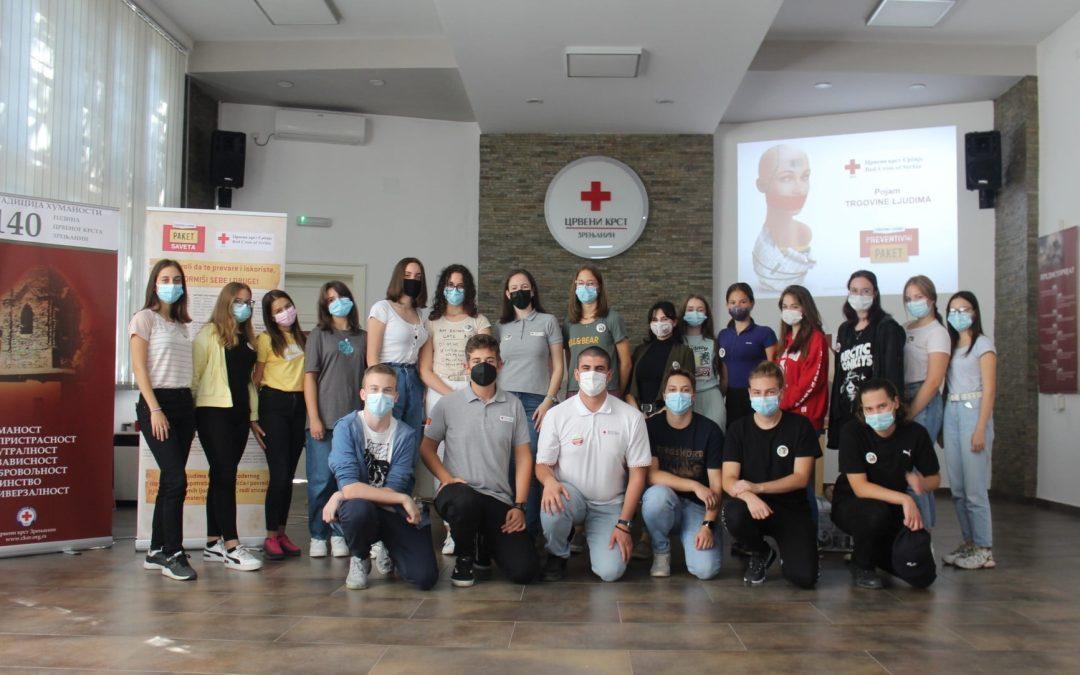 Обука за вршњачке едукаторе у Програму борбе против трговине људи